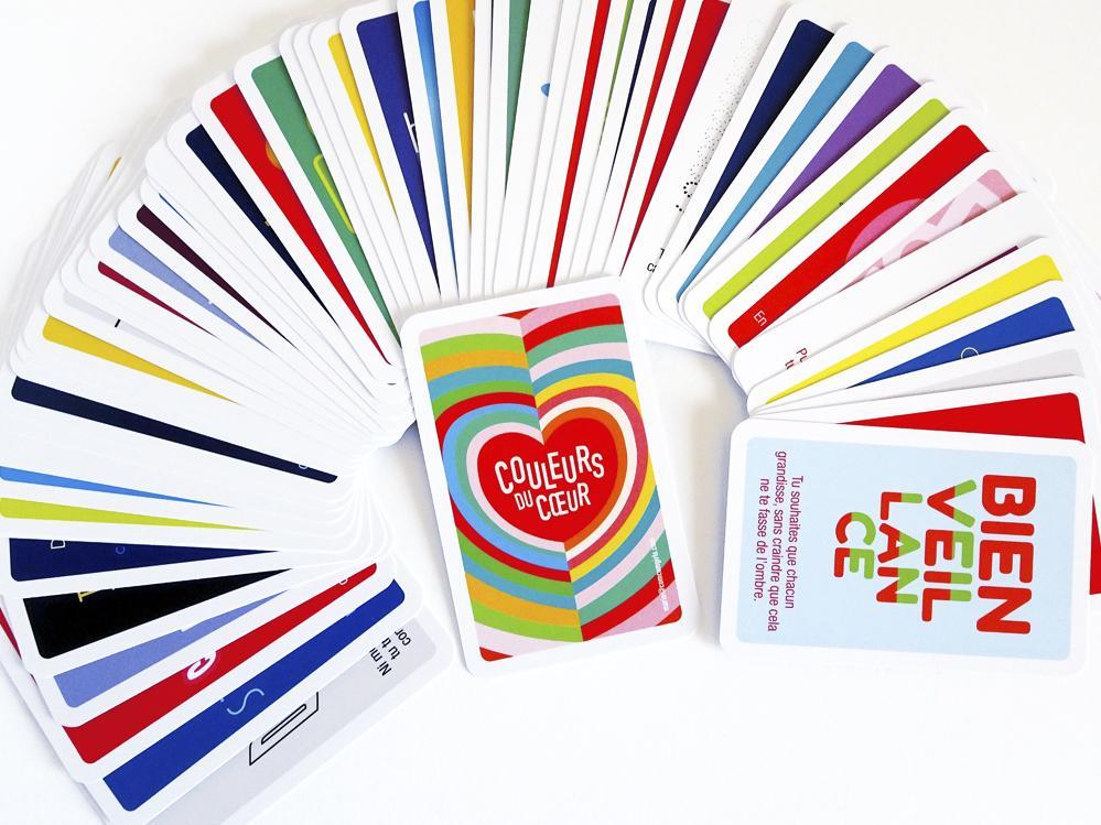 Couleurs du Cœur • 56 qualités pour colorer vos journées