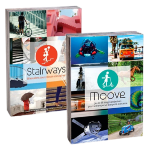 Duo photolangage Stairways+Moove