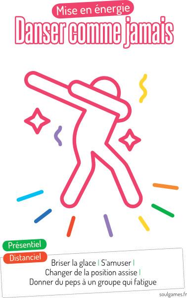 Jeu boosters - danser comme jamais