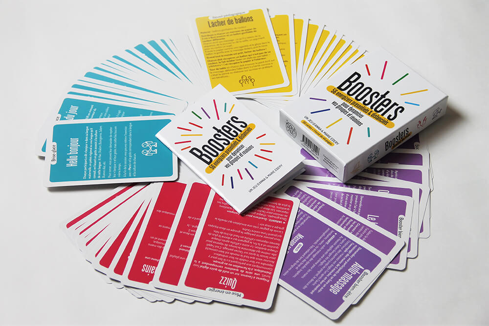 Jeu de cartes Boosters